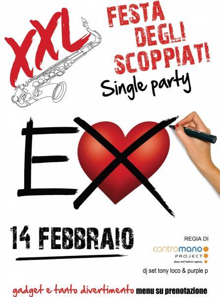 Festa degli Scoppiati at XXL Music Pub // 14 Febbraio 2018