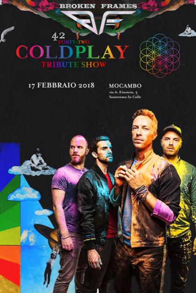 42 Coldplay Tribute Show by Broken Frames - Santeramo