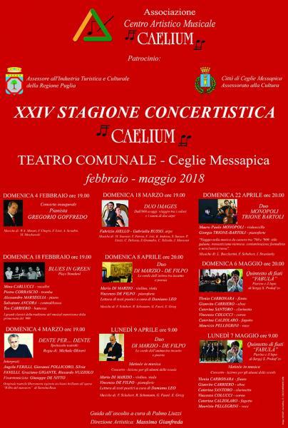 E' arrivata la XXIV Stagione Concertistica