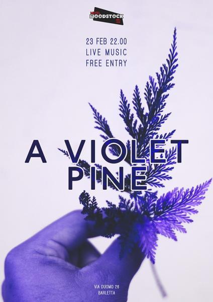 A Violet Pine live at Motel Woodstock