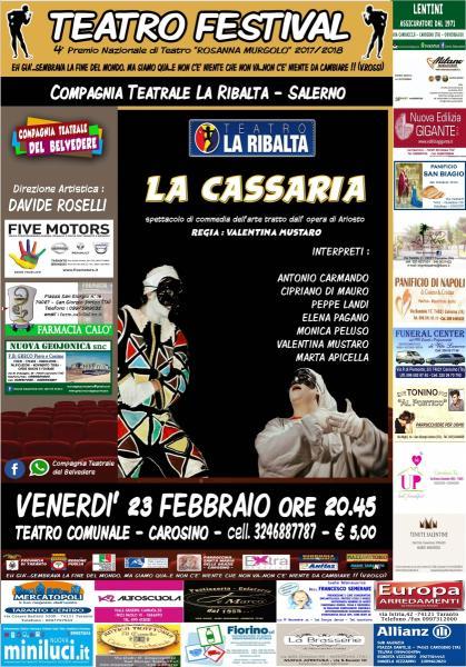 TEATRO FESTIVAL - LA CASSARIA