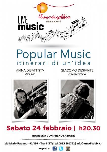 Popular Music, duo violino-fisarmonica
