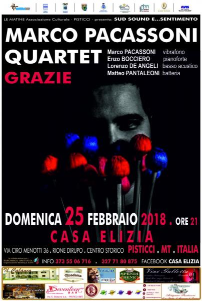 Marco PACASSONI Quartet in Concerto
