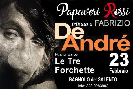 Tibuto a Fabrizio De André - PAPAVERI ROSSI