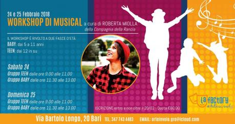 Workshop di musical
