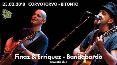 Finaz & Erriquez Bandabardò Duo al CorvoTorvo!