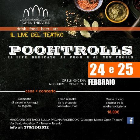 """""""Poohtrolls"""" il Live dedicato ai Pooh e ai NewTrolls"""
