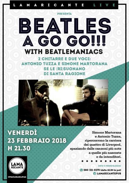 BEATLES A GO GO!!! WITH BEATLEMANIACS