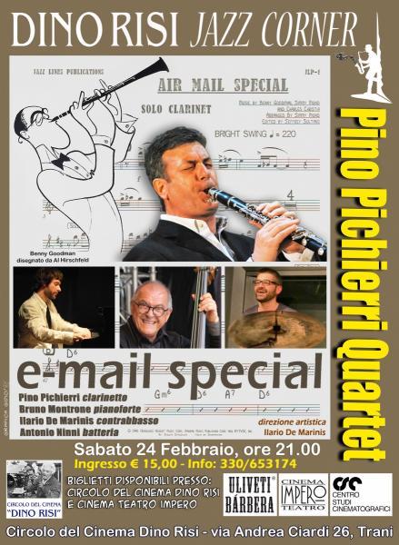 Pino Pichierri Quartet: E-Mail special