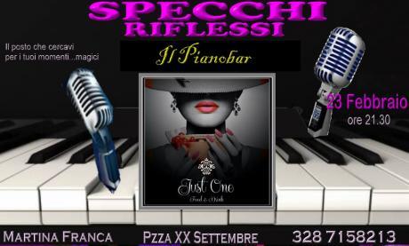 """Specchi Riflessi - in  """" Pianobar """""""