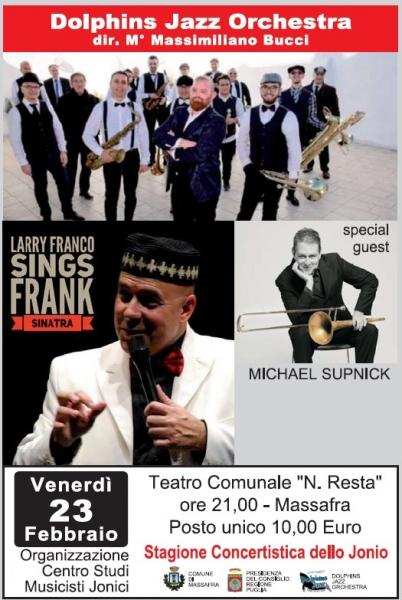 LARRY FRANCO sings FRANK SINATRA