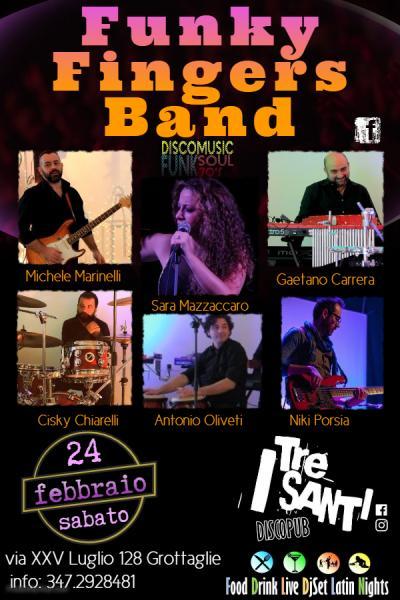 Funky Fingers Band live SoulDiscoFunk 70/80