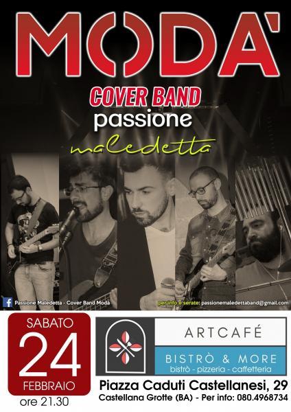 Modà - Passione Maledetta live Artcafè Castellana Grotte (BA)