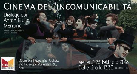 Cinema dell'incomunicabilità - Dialogo con Anton Giulio Mancino