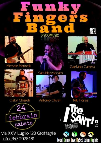 FUNKY FINGERS BAND live