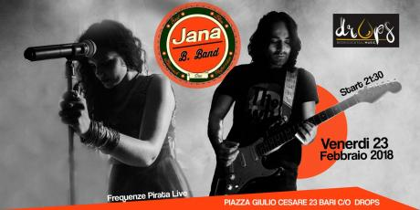 "Frequenze Pirata Live & Drops presents ""Jana B.Band Acoustic Duo"" live"