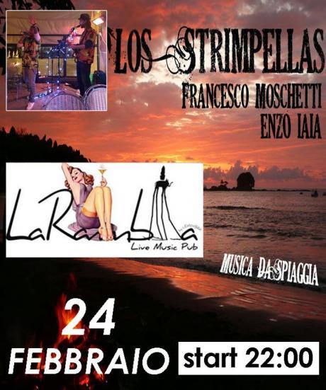 Los Strimpellas Musica da Spiaggia live La Rambla Bari