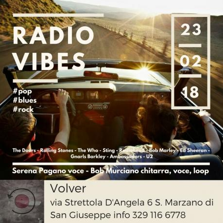 Radio Vibes duo live at Volver