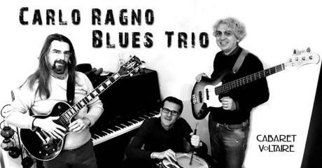 Carlo Ragno blues trio live