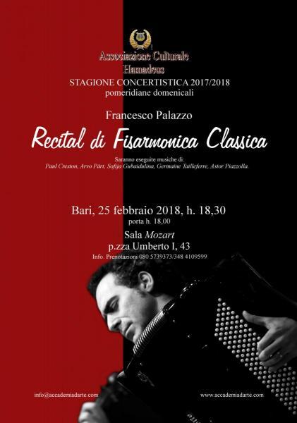 Recital di Fisarmonica Classica