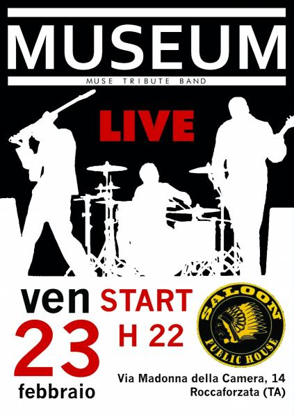 MuseuM (Muse Tribute Band) LIVE at Saloon Public House