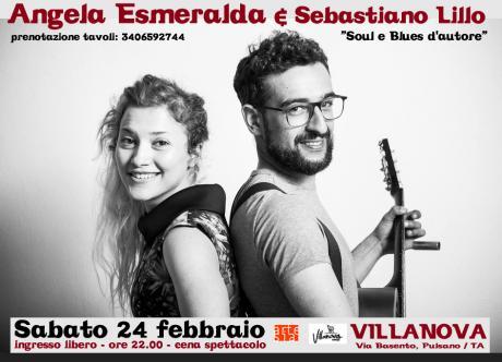 Angela Esmeralda & Sebastinano Lillo live (soul - blues)
