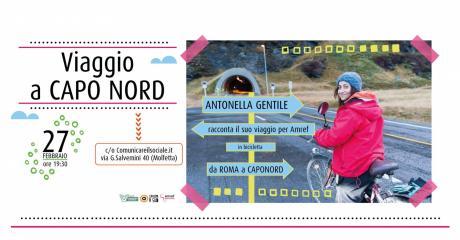 VIAGGIO A CAPO NORD. Conversazione con Antonella Gentile