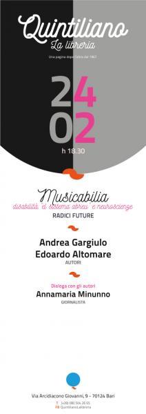 Musicabilia di Andrea Gargiulo/Edoardo Altomare
