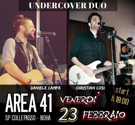 Aperitivo & Undercover - 23 febbraio @Area 41 SP Collepasso-Noha