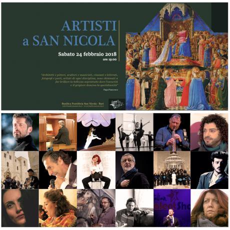 ARTISTI A SAN NICOLA 2018