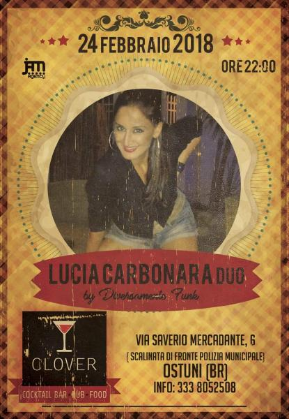 Lucia Carbonara duo By Diversamente Funk at Clover