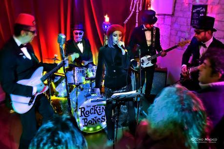 The Rockin' Bones & Boom Boom Baby in concerto