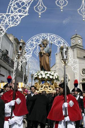 "Festa patronale di San Giuseppe e ""mattre"""
