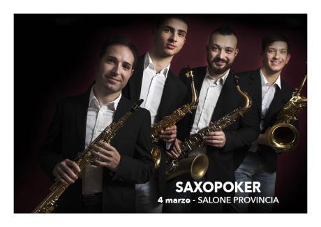 Saxopoker Quartetto di Sax