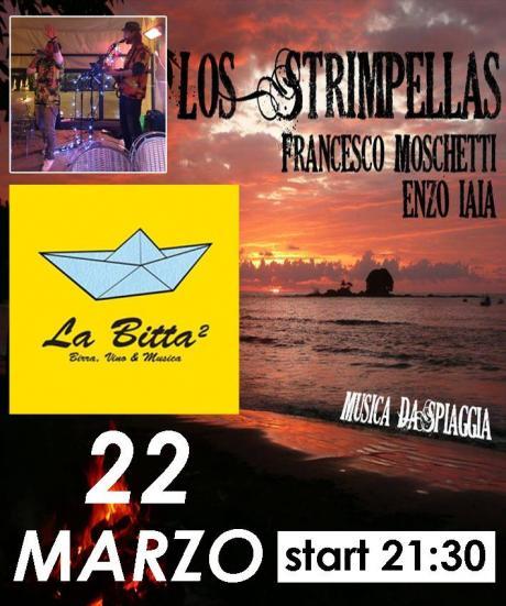 Los Strimpellas Musica da Spiaggia live La Bitta 2 Bari