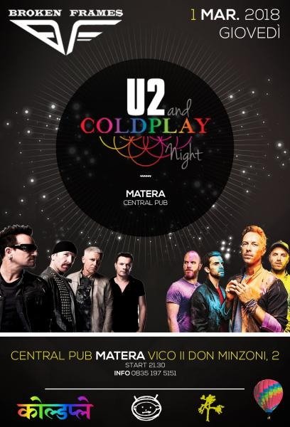 U2 & COLDPLAY Night by Broken Frames - Matera