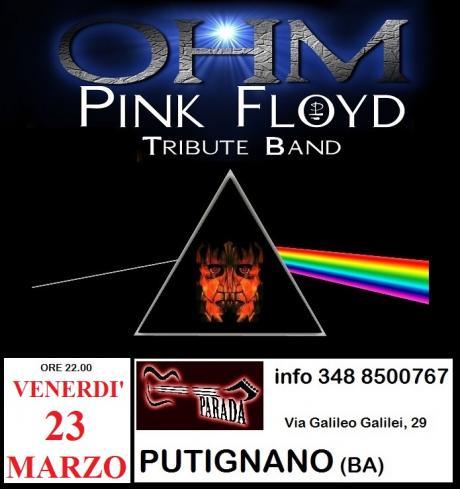 OHM PINK FLOYD LIVE - PUTIGNANO (BA) - PARADA CLUB
