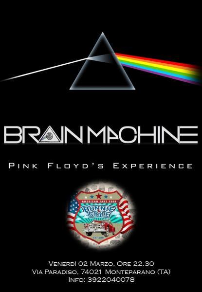 I BRAIN MACHINE LIVE AT BONNIE&CLYDE