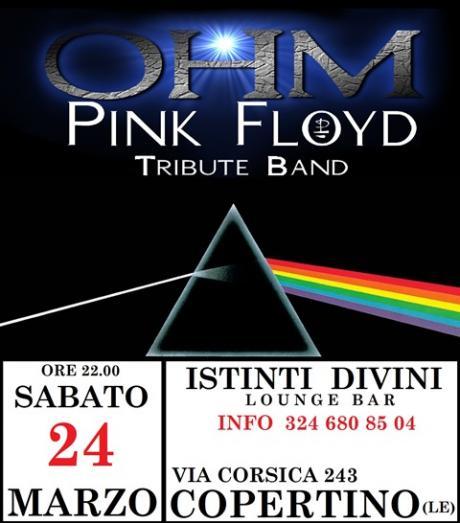 OHM PINK FLOYD LIVE - COPERTINO (LE) - ISTINTI DIVINI Lounge Bar