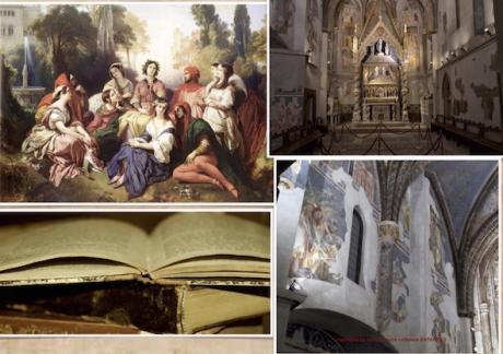 3 Marzo 2018 passeggiata guidata La Napoli trecentesca di Boccaccio e Petrarca