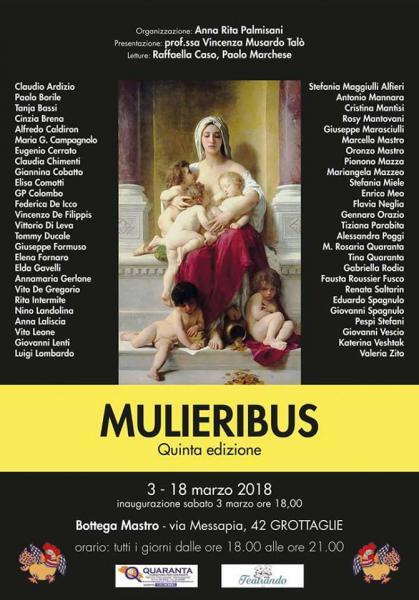 """""""MULIERIBUS"""" Quinta Edizione"""