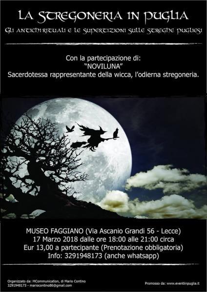 La stregoneria in Puglia (gli antichi rituali e le superstizioni sulle streghe pugliesi)