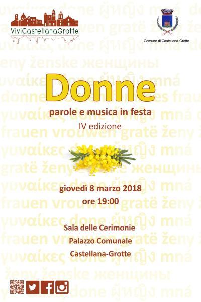 Donne - parole e musica in festa - IV edizione