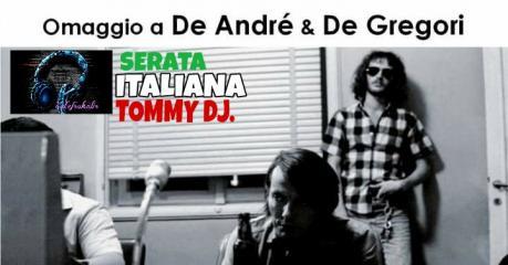 Concerto De André I Maltesi & De Gregori Curve nella Memoria/DJ.Set
