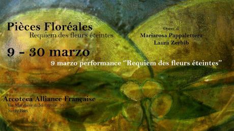 Pièces floréales : Requiem des fleurs éteintes