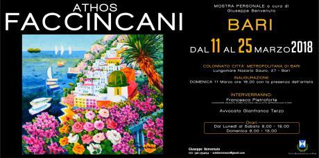 Athos Faccincani - mostra personale