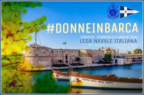#DONNEINBARCA   by LNI Taranto Rematori Magna Grecia