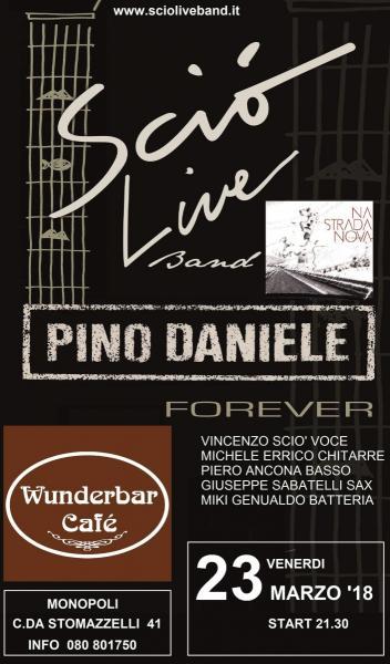 Wunderbar live cafè presenta Scio' Live un omaggio al grande Pino Daniele