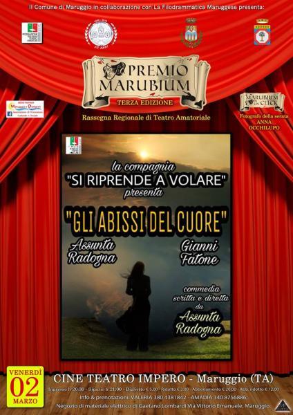 Premio Marubium 2018 - GLI ABISSI DEL CUORE