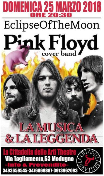Pink Floyd Night In Theatre alla Cittadella Delle Arti